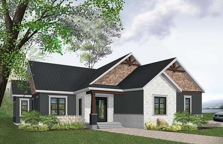 House Plan 76489