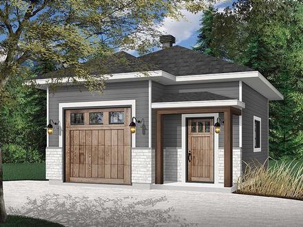Garage Plan 76512