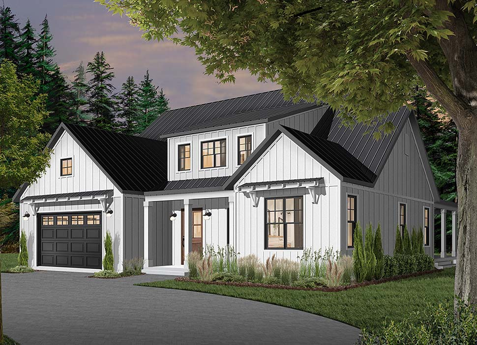 Cape Cod, Country, Craftsman, Farmhouse, Ranch House Plan 76521 with 4 Beds, 4 Baths, 3 Car Garage Picture 7