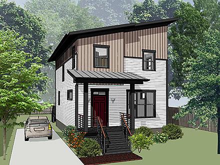 House Plan 76614