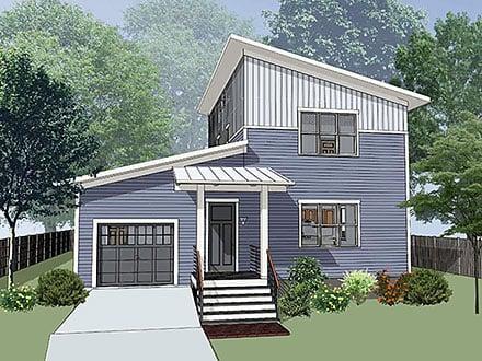 House Plan 76622
