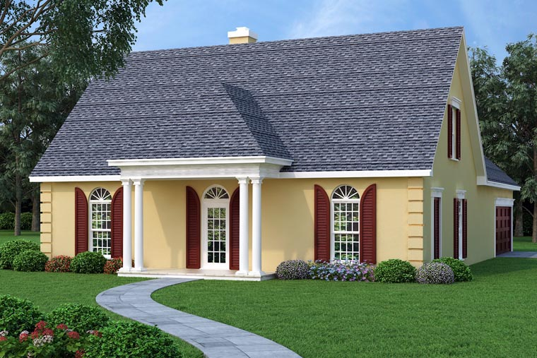 Traditional House Plan 76900