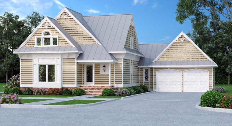 Victorian House Plan 76901 Elevation