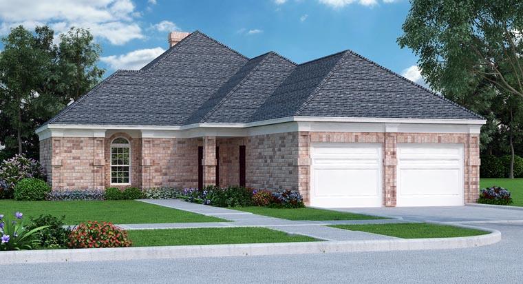 House Plan 76908 Elevation