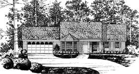House Plan 77001