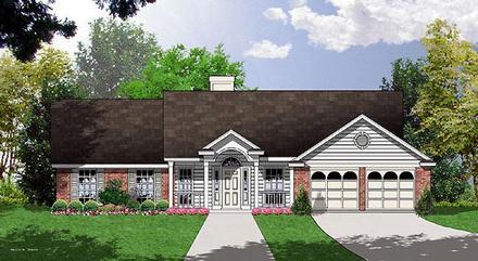 House Plan 77041