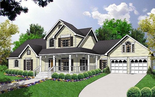 House Plan 77121