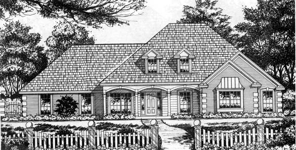 Traditional House Plan 77739