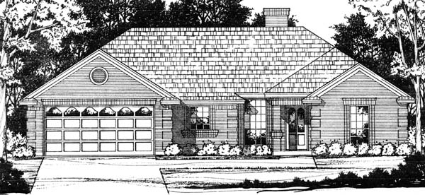 Traditional House Plan 77748 Elevation