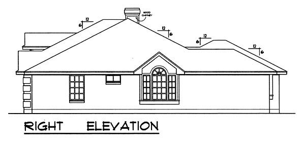Traditional House Plan 77757 with 3 Beds, 2 Baths, 2 Car Garage Picture 2