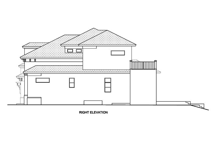 Florida, Mediterranean House Plan 78111 with 4 Beds, 4 Baths, 2 Car Garage Picture 2