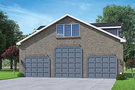 Garage Plan 78433