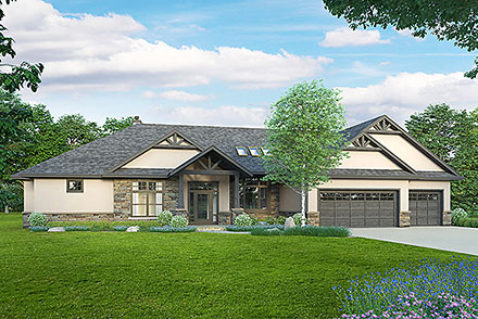 House Plan 78437