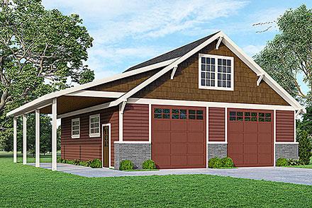Garage Plan 78438