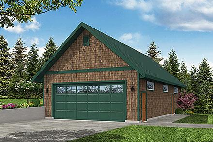 Garage Plan 78474