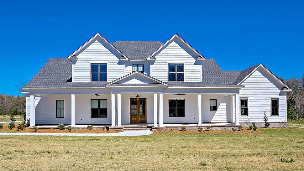 Country, Farmhouse, Traditional House Plan 78511 with 4 Beds, 5 Baths, 2 Car Garage Elevation