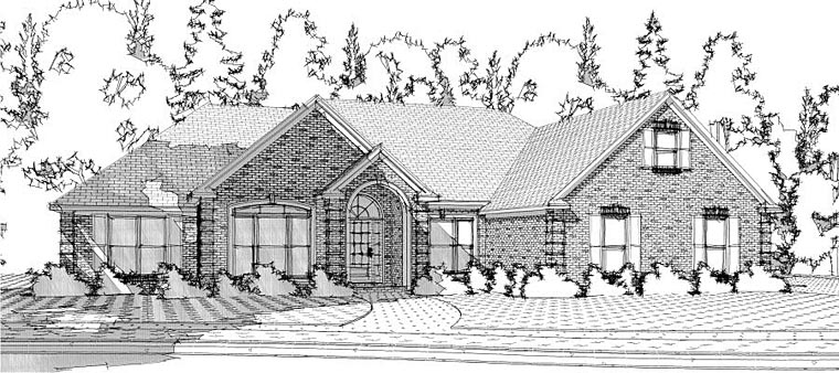 Traditional House Plan 78613 Elevation