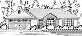Plan Number 78636 - 1502 Square Feet