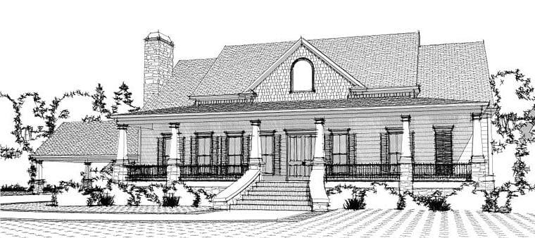 Southern House Plan 78651