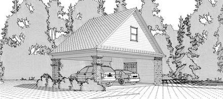 Garage Plan 78665