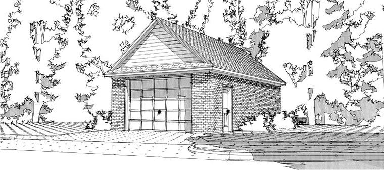Garage Plan 78667 Elevation