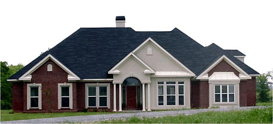 Traditional House Plan 78705 Elevation