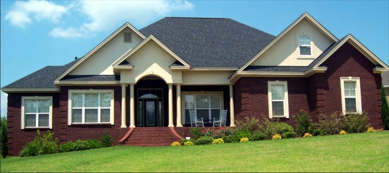 Traditional House Plan 78713 Elevation