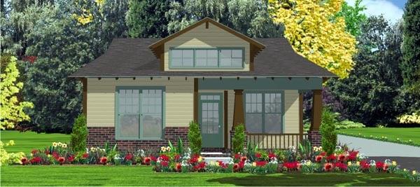 Contemporary House Plan 78800