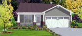 Plan Number 78805 - 1389 Square Feet