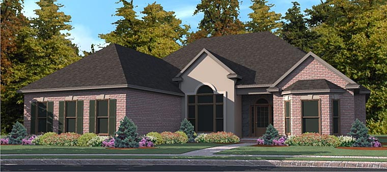 Traditional House Plan 78875 Elevation
