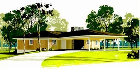 1950s and 1960s Retro House Plans Ramblers to Contemporary