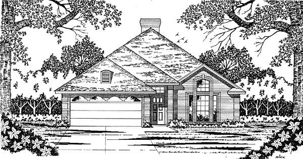 House Plan 79025