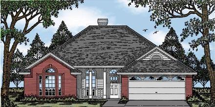 House Plan 79052