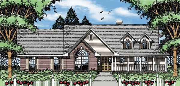 OneStory House Plan 79114