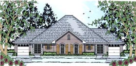 Country Multi-Family Plan 79244 with 4 Beds, 4 Baths, 2 Car Garage Elevation