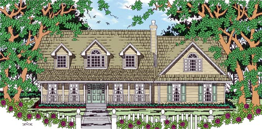 Country House Plan 79265