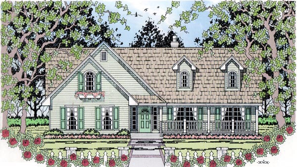 Country House Plan 79294 Elevation