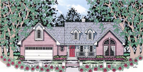 OneStory House Plan 79295
