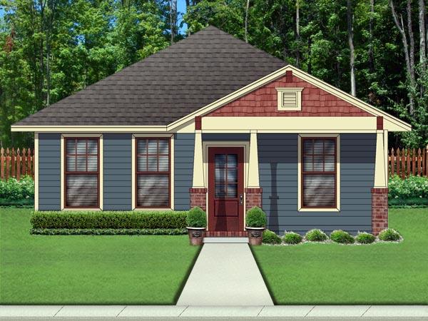 Craftsman House Plan 79334