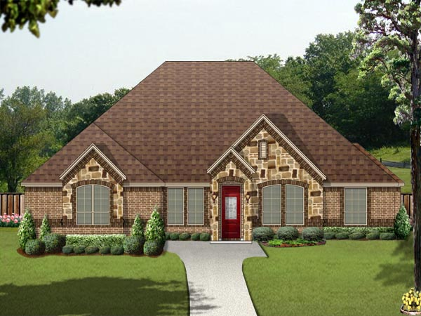 Traditional House Plan 79346 Elevation