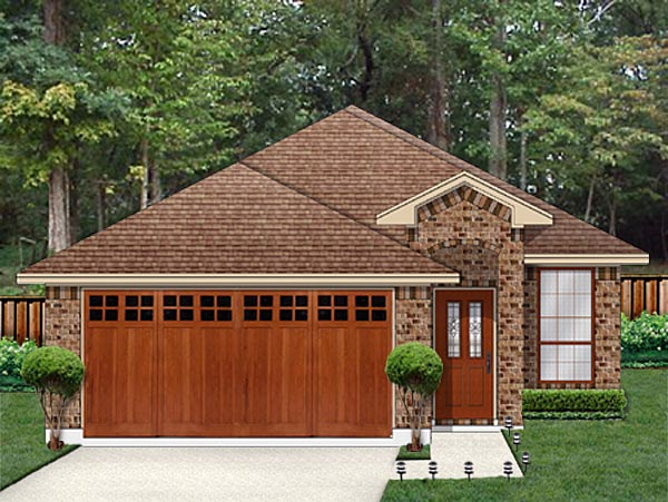Traditional House Plan 79351 Elevation