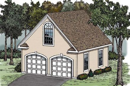 Garage Plan 79506