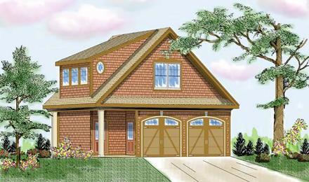 Garage Plan 79508