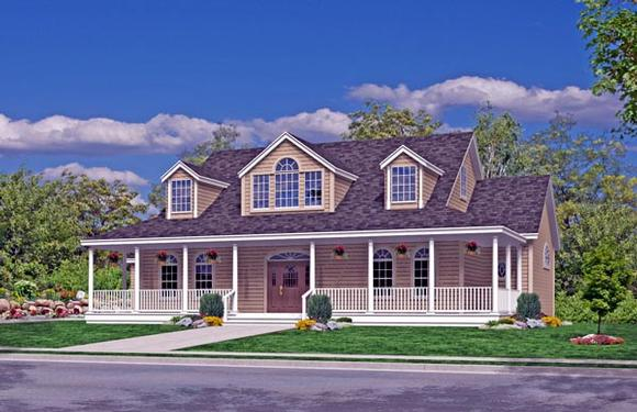Coastal, Country, Farmhouse, Southern, Traditional House Plan 79521 with 3 Beds, 3 Baths, 2 Car Garage Elevation