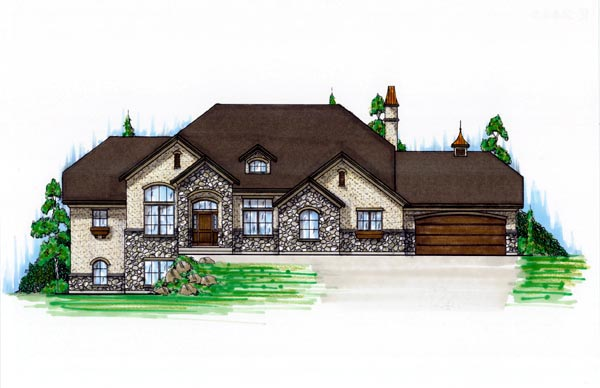 Hillside House Plan 79781