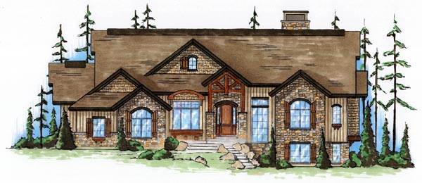 Traditional House Plan 79811