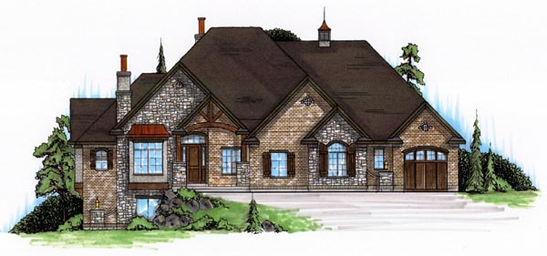 Traditional House Plan 79812 Elevation