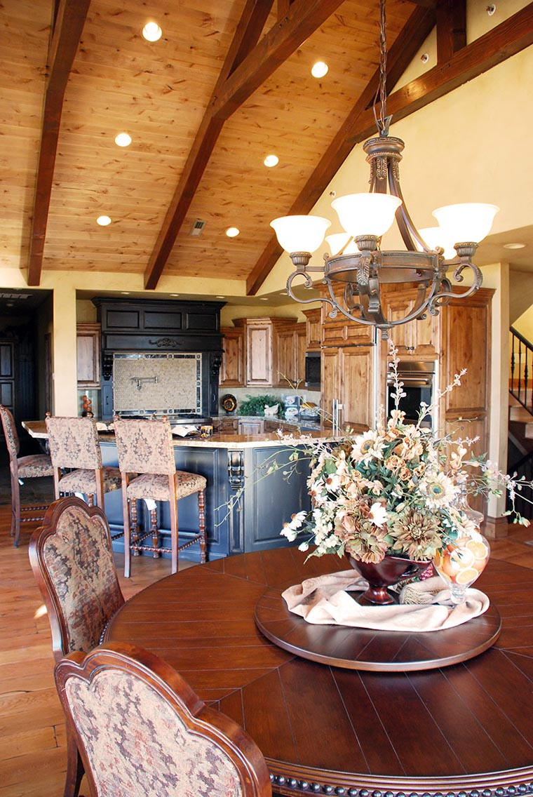 Traditional House Plan 79936 with 6 Beds, 6 Baths, 3 Car Garage Picture 2