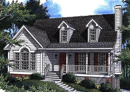 House Plan 80130
