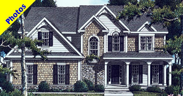 Southern House Plan 80208 Elevation